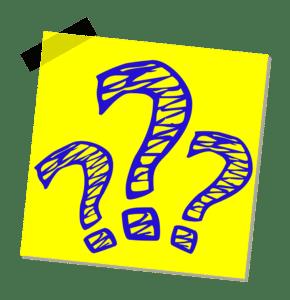 Kapp und Gehrungssäge Fragezeichen